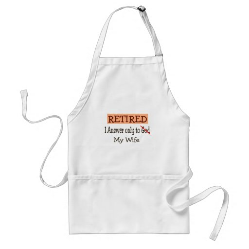 Funny Retirement Gifts Aprons