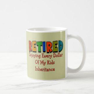 Funny Retirement Gifts Basic White Mug
