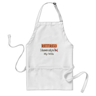 Funny Retirement Gifts Standard Apron