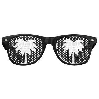 Funny retirement party shades with palm tree