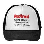 Funny Retirement Saying Mesh Hats