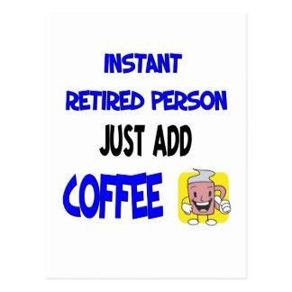Funny Retirement Saying Post Card