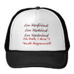 Funny Retirement Shirts and Gifts Cap