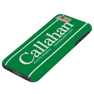 Funny Retro Callahan Auto Parts Tough iPhone 6 Plus Case