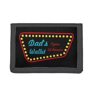 Funny Retro Dad's Men's Father's Day Wallet Gift