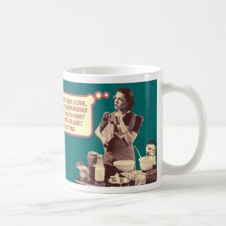 Funny Retro Housewife Mug