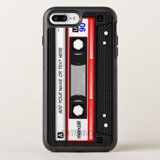 Funny Retro Mixtape Old Fashion Audio Cassette OtterBox Symmetry iPhone 7 Plus Case