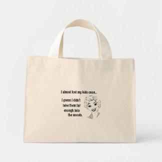 Funny Retro Mom Tote Bag Mini Tote Bag