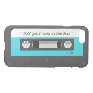 Funny Retro Music Cassette Tape Custom Name iPhone 7 Case
