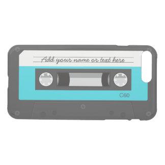 Funny Retro Music Cassette Tape Custom Name iPhone 7 Plus Case