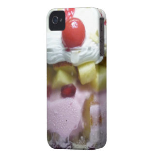 Funny Retro sundae iPhone 4 Covers