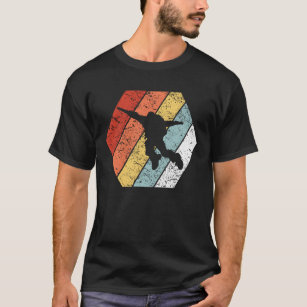 Funny Retro Vintage Skydiving 80s Style T-Shirt