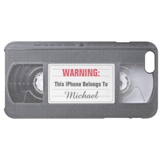 Funny Retro Vintage VHS Cassette Tape