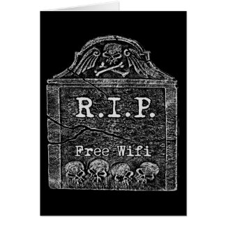Funny RIP Greeting Card
