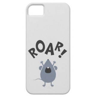 Funny Roar Mouse Design Barely There iPhone 5 Case