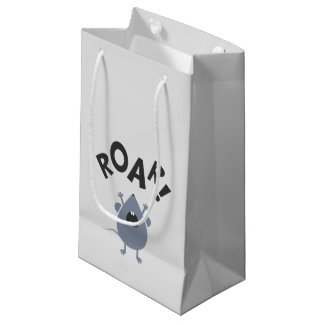 Funny Roar Mouse Design Small Gift Bag