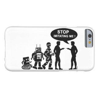 Funny robot evolution iPhone 6 case