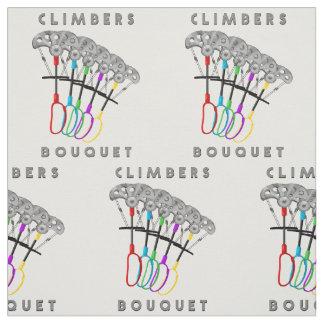 Funny Rock Climbing Bouquet Fabric