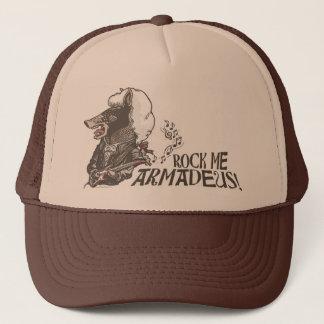 Funny Rock Me Armadeus Gear Trucker Hat