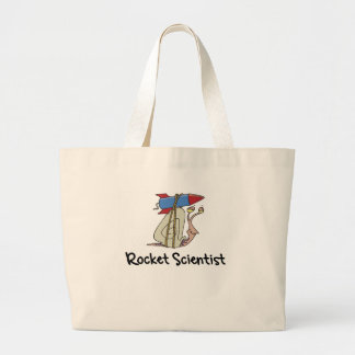 Funny Rocket Scientist Tote Bag