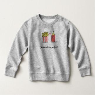 Funny Romantic You Make Me Perfect | Sweatshirt
