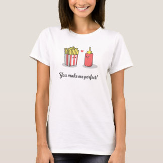 Funny Romantic You Make Me Perfect Valentine Shirt