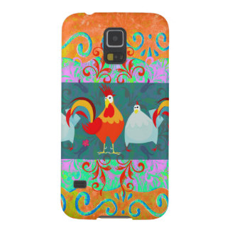 Funny Rooster Hen Funky Chicken Farm Animal Gifts Galaxy S5 Covers