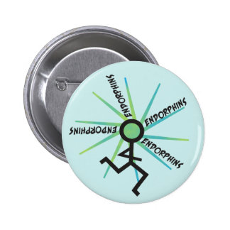 Funny Running Endorphins Pin