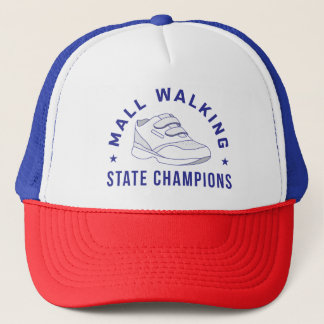 Funny Running Hat - Mall Walking State Champions