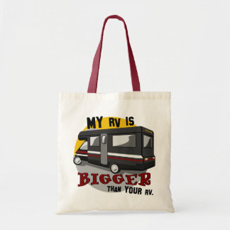 Funny RV Tote Bag