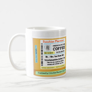 Funny RX Prescription Coffee Mug