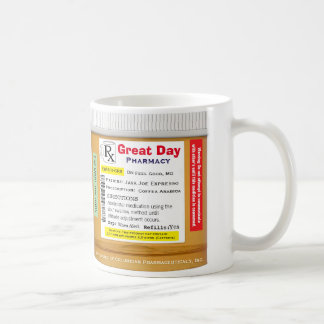 Funny RX Prescription Mug