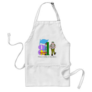Funny Safety In Numbers T-shirts Gifts Standard Apron
