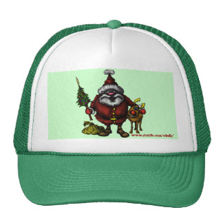 Funny Santa Christmas hat