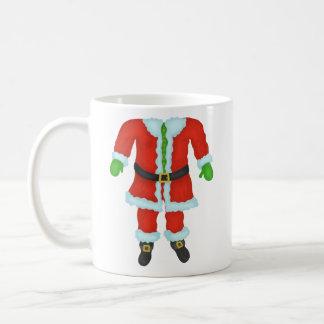 Funny Santa Claus Body Novelty Christmas Holiday Coffee Mug
