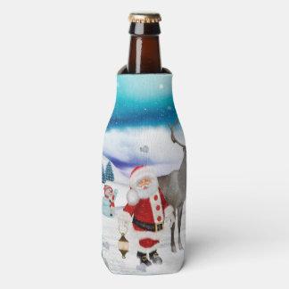 Funny Santa Claus Bottle Cooler