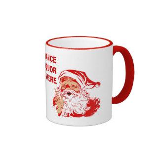 Funny Santa Claus Christmas Mugs