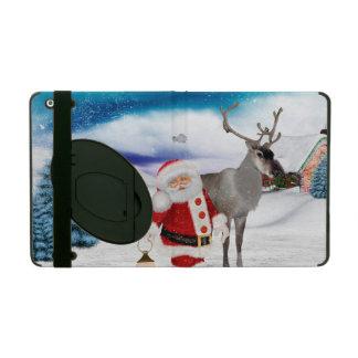 Funny Santa Claus iPad Folio Case