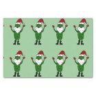 Funny Santa Claus Pickle Tissue Paper