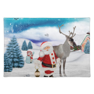 Funny Santa Claus Placemat