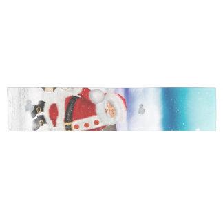 Funny Santa Claus Short Table Runner