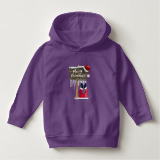 Funny Santa Claus Toddler Pullover Hoodie