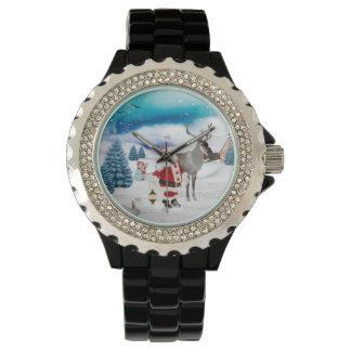 Funny Santa Claus Watch