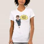 "Funny Sarah Palin ""See Russia"" white shirt"