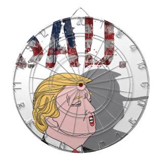 Funny sarcastic sad anti President Donald Trump Dartboard