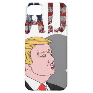 Funny sarcastic sad anti President Donald Trump iPhone 5 Cover