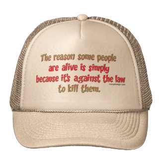 Funny Sarcastic Saying on People Cap