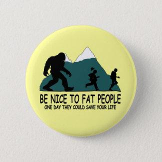 Funny Sasquatch 6 Cm Round Badge
