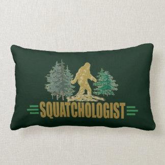 Funny Sasquatch | Big Foot | Believe! | Hunt Lumbar Cushion