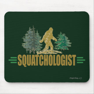 Funny Sasquatch | Big Foot | Believe! Mouse Pad
